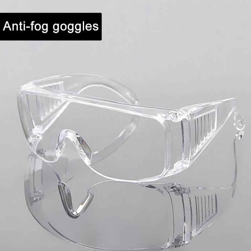 100pcs/100 * cappuccio + 1 occhiali di protezione Rete di Capelli Usa E Getta Bouffant Cap Non Tessuto Stretch Dust Cap Testa copertura del Blocco goccioline e sabbia