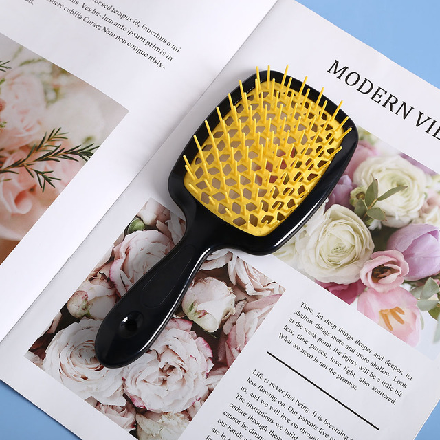 1pcs Hair Massage Comb Professional Salon Hair Care Styling Tool Anti Tangle Anti-static Hairbrush Head Comb Hairdressing Tools