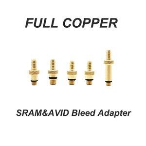 Image 3 - Kit di spurgo del freno a disco idraulico per bicicletta per AVID SRAM S4 guida al codice del bordo di spurgo della bici RSC R livello ulta tlm strumenti di riparazione eTap rossi