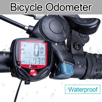 HotSale Bike Computer With LCD Digital Display Waterproof Bicycle Odometer Speedometer Cycling Stopwatch Riding Accessories Tool new arrival odometer bike meter speedometer digital lcd bicycle computer clock stopwatch