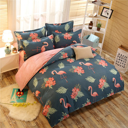 Washed Cotton Brushed 4-piece Bedding Set 2.01. 8m Kit Supplies Cartoon Four-piece Bed Sheet Set Special Offer Batch