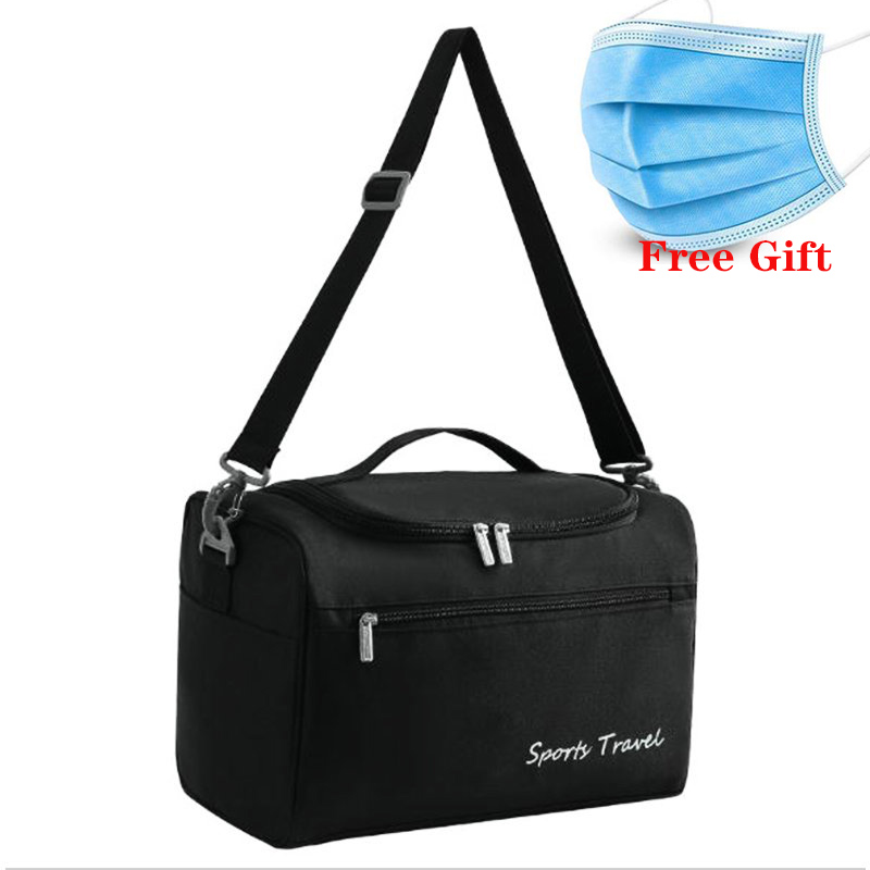 Large Capacity Fitness Bag For Women Sport Bags For Gym Men Excursion Wash Storage Bags Wet And Dry Seperation Swimming Bags