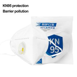 Reusable KN95 Mask - Valved Face Mask N95 Protection Face Mask FFP1 FFP2 FFP3 Mouth Cover Pm2.5 Dust Masks 6 Layers Filter 8
