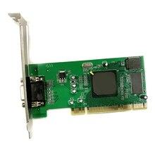R58A PCI VGA Display Card ATI Rage XL 8MB 32Bit PCI VGA Video Card CL-XL-B41 SDRAM VGA Card Computer Accessories