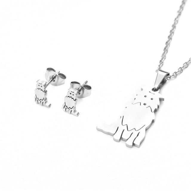 Dog Necklace Set 5