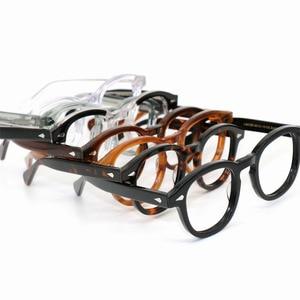 Image 2 - SPEIKE Tùy Chỉnh Thời Trang Mới Lemtosh Johnny Depp phong cách kính mắt AAAAA + chất lượng Vintage tròn quang gọng kính đơn thuốc ống kính