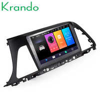 Krando Android 9.0 9 IPS Vollen touch Big screen auto multimedia-system für HYUNDAI SONATA LF 2015-2017 GPS audio player BT