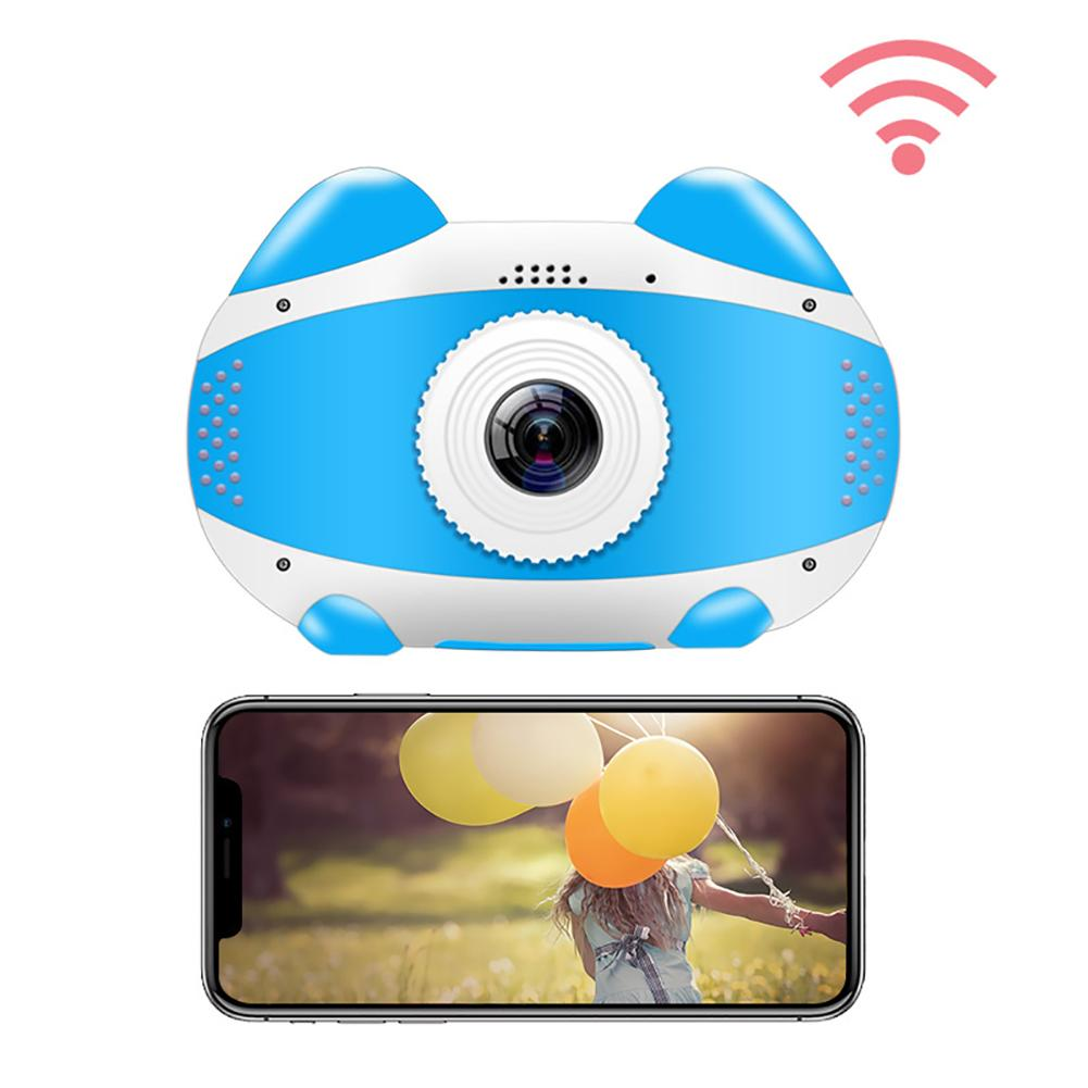 H1ff342ceacaf4cac8d0256149e47a749W 2019 Newest Mini WiFi Camera Children Educational Toys For Children Birthday Gifts Digital Camera 1080P Projection Video Camera