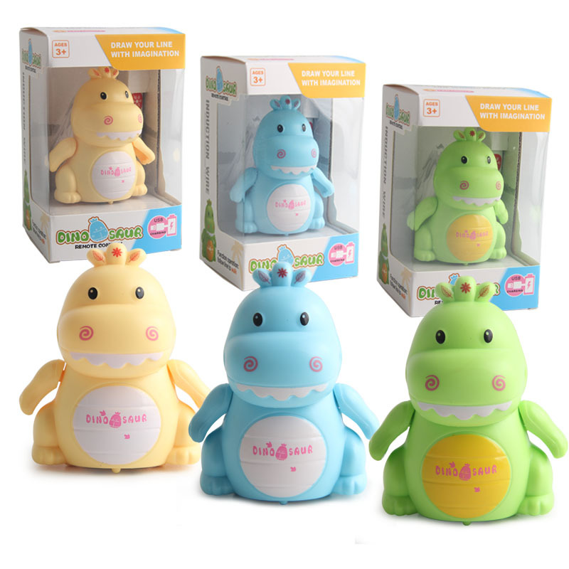 Hot Sales Sensing Line Drawing Little Dinosaur Line Drawing Automatic Sensing Knew The Way With Pen USB Charging Strange New Toy