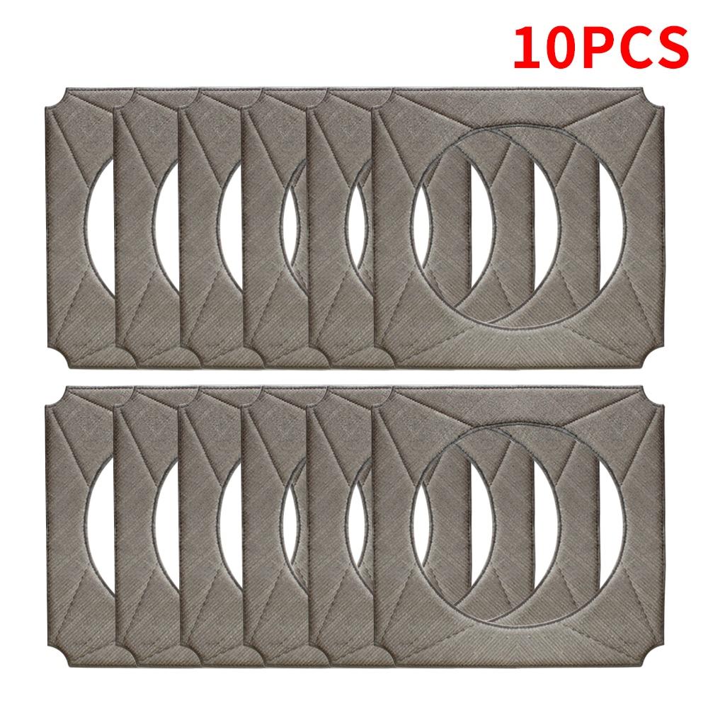 10 unids/lote microfibra de alta calidad paño de mopa fregar limpiar Winbot piezas para Ecovacs Winbot W950 7 Uds NI-MH 14,4 V batería de alta calidad 3500mAh para panda X500 batería para Ecovacs espejo CR120 aspiradora para Dibea X500 X580