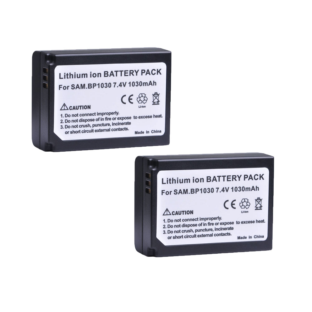 2pc 1030mAH BP-1030 BP 1030 BP-1130 Rechargeable Camera <font><b>Battery</b></font> For <font><b>Samsung</b></font> NX200 NX210 NX300 NX500 NX1000 <font><b>NX1100</b></font> NX2000 NX-300M image