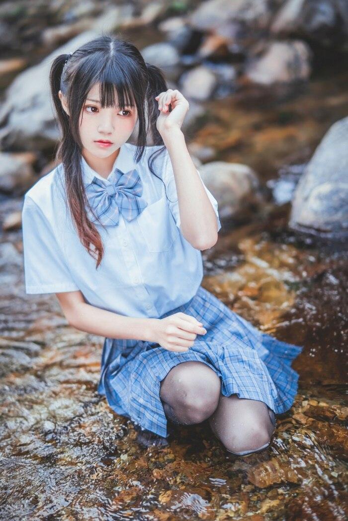 萝莉风COS 桜桃喵 简直太好看了!