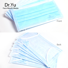 FreeShipping 4 Layer Disposable Protective Face Mouth Masks Anti nCoV Influenza Bacterial Facial Dust-Proof Safety Masks