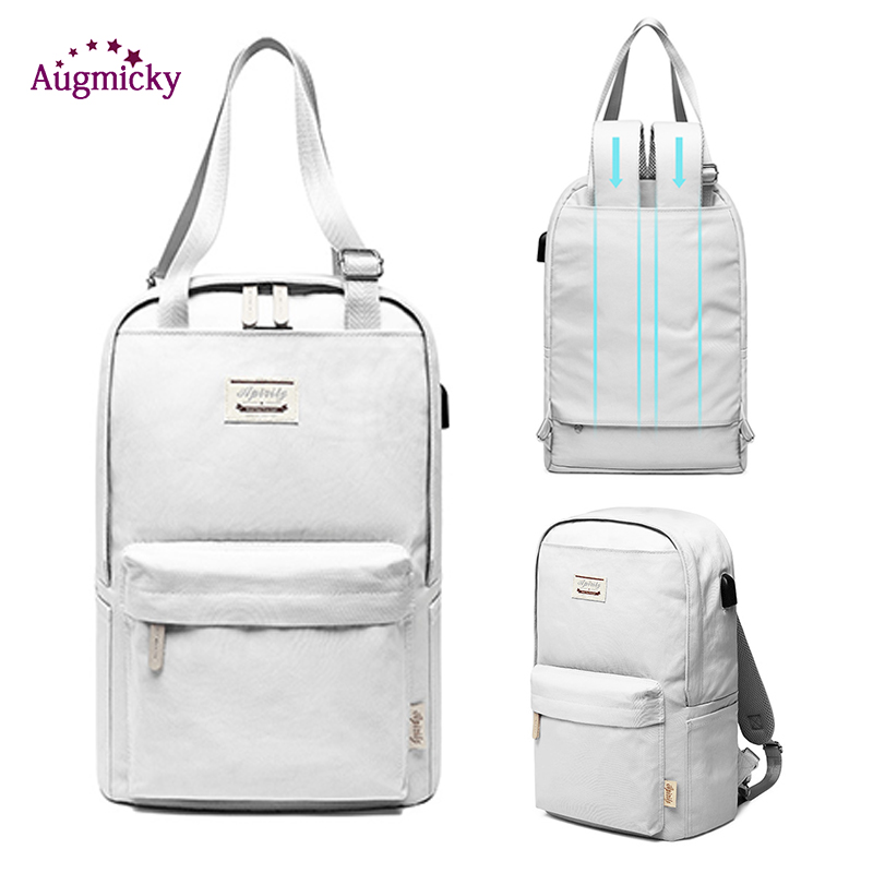 "2019 New 13.3""14""15.4""15.6"" inch Ladies Leisure <font><b>Laptop</b></font> <font><b>Backpack</b></font> <font><b>women</b></font> Travel Rucksack SchoolBag Case For Teenagers Girls Mochila image"