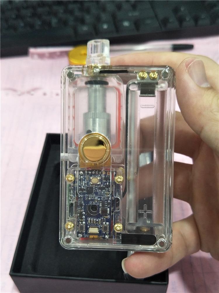 Original SXK Billet V4 70w box mod kit with USB port rev.4 Device black Transparent Acrylic color BB 70w box