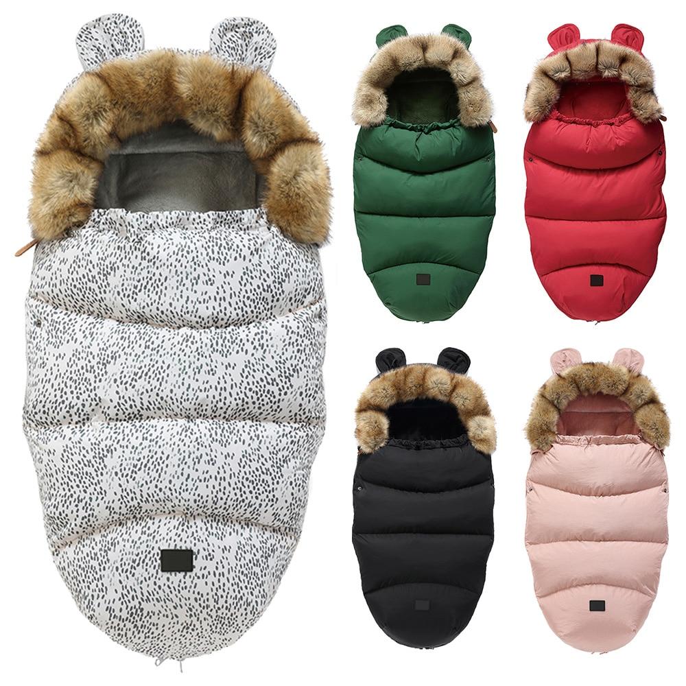 Winter Socks Envelope Footmuff Stroller Sleep-Bag Warm Windproof