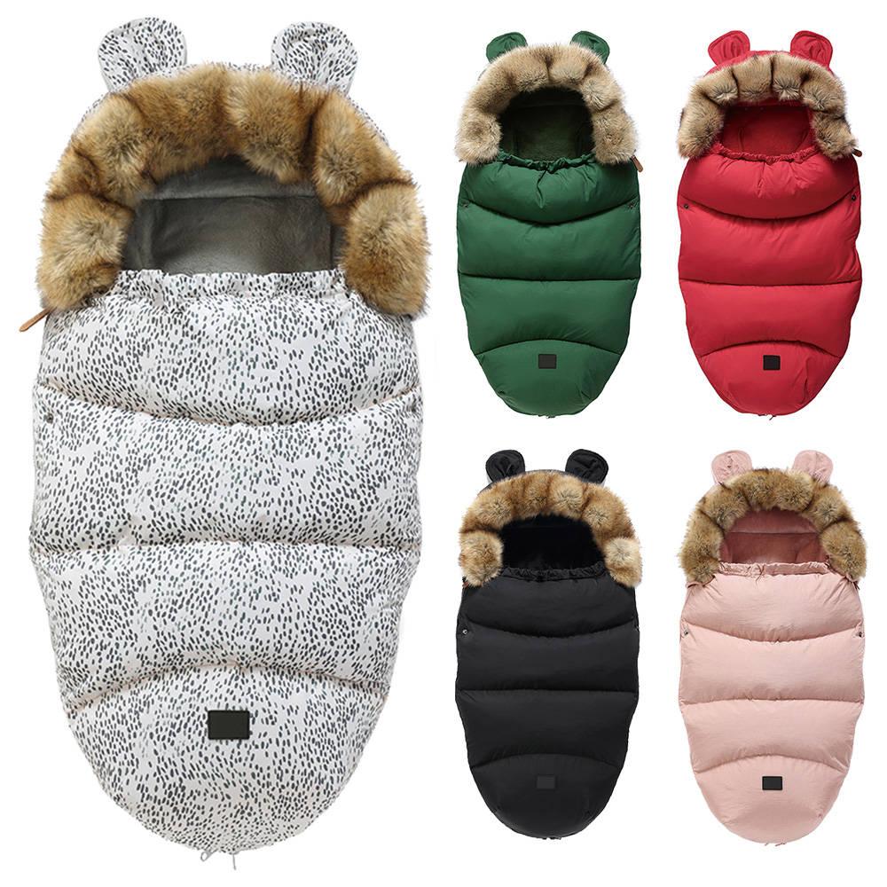 Sleepsack Baby Envelope Footmuff Stroller Winter Windproof Warm for Socks