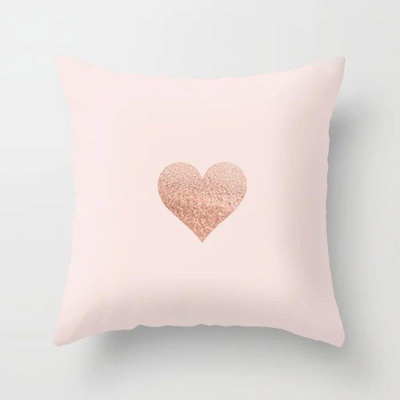 H1ff47307073546bd98d90198d6aac9cds New 1PC Popular Cushion Case Geometric Tropic Pineapple Nordic Sofa Pink Pillow Decorative