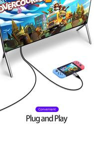 Image 5 - Unnlink Typ C PD Lade zu HDMI Kabel 4K 1080P FHD Stecker und Spielen Konverter für s8 s9 s10 p20 p30 mate20 Schalter zu HDMI Kabel