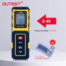Rulers Laser-Meter-Tool Rangefinder Build-Measure-Device Metro Mini OUTEST 40M/30M