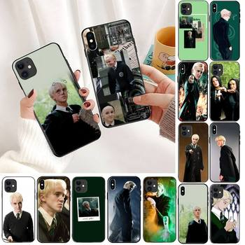 TOPLBPCS Draco Malfoy Phone Case For iPhone 11 8 7 6 6S Plus 7 plus 8 plus X XS MAX 5 5S XR 12 11 Pro max se 2020 Funda Cover image