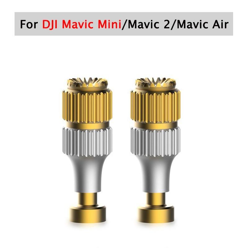 2Pcs Mavic Mini Mavic 2 Pro Zoom Mavic Air Remote Control Gold Joystick Rocker Drone Part Joystick Rocker Extension Accessories(China)