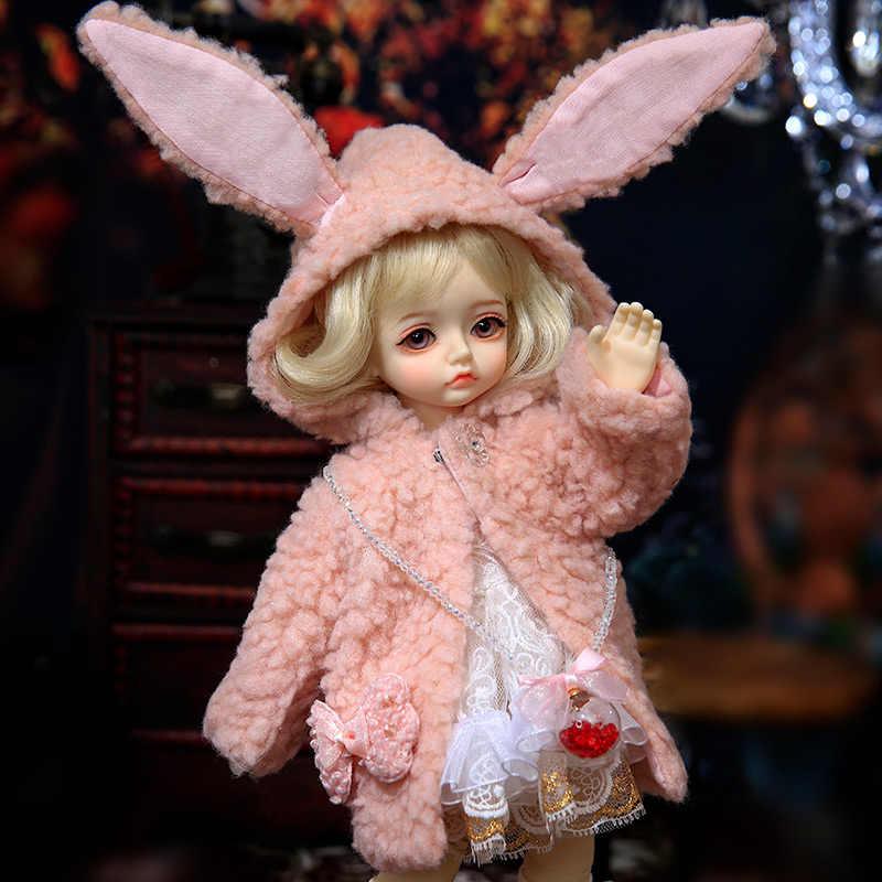 Muñeca de juguete OUENEIFS BJD Sara Yosd Doll1/6 para niñas pequeñas, muñeca de niños, juguetes para niños, amigos, regalo sorpresa, regalo de Navidad