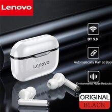 Lenovo LP1/LP1S auricolare Bluetooth Wireless HD cuffie Stereo con cancellazione del rumore auricolari TWS BT5.0 HiFi con microfono auricolari Wireless