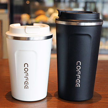 2020 New 500/380ML Thermos Flask Coffee Mug Thickened Big Car Travel Thermo Cup Thermosmug For Gifts Vacuum - discount item  50% OFF Kitchen,Dining & Bar