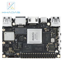 Khadas SBC Edge V Max RK3399 avec carte de développement 4G DDR4 + 128 go EMMC5.1