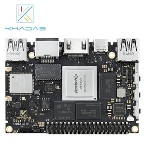 Image 1 - Khadas sbc エッジ v 最大 4 グラム DDR4 と RK3399 + 128 ギガバイト EMMC5.1 開発ボード