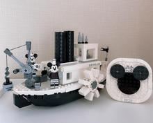 2019 New Ideas Steamboat Willie Movie Lepining 21317 Building Blocks Bricks Toys For Children Gifts Model Kids Christmas Gift new diagoned alley fit 75978 building blocks kits bricks classic movie series model kids diy toys for children christmas gifts