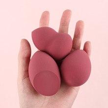 Maquiagem esponja puff beleza ovo rosto fundação em pó creme esponjas cosméticos puff pó puff maquiagem ferramenta beleza feminina