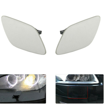 1Pair Front Bumper Headlight Washer Cover Cap For BMW E92 Coupe E93 328i 335i image