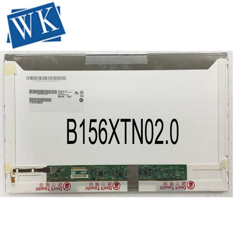 B156XW02 B156XTN02 LTN156AT02 LTN156AT05 LP156WH2 LP156WH4 1366*768 40 Pins Laptop LCD Screen For ACER 5755G 5750G 5750ZG 5742G