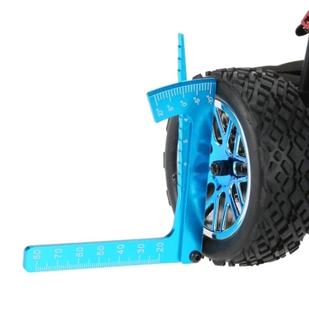 Alloy 15 degrees Adjustable Ruler Adjusting For RC Model Wheels Camber Measure