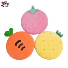 Cactus Watermelon Strawberry Carrot Pineapple Kiwi Memory Foam Plush Toys Seat Cushion Mat Room Decor Kids Children Girls Gift