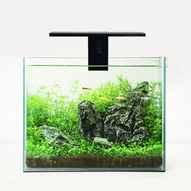Fish & Aquatic Pet Supplies LED Aquarium Lamp Plant Light Fits Tanks 3-8MM Thickness Aquatic Lamp Aquarium Bracket Light Hot 2
