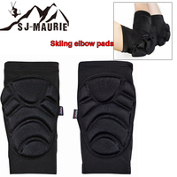 2pcs Skiing Protector Skiing Cycling Hiking Dancing Basketball Volleyball Arm Support Elbow Pads Support Breathable Brace