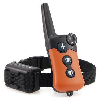 Petrainer 619A-1 800m elektryczna obroża do szkolenia psa Pet pilot do wszystkich rozmiarów dźwięk wibracji wstrząsów tanie i dobre opinie Obroże szkoleniowe Z tworzywa sztucznego 800meters Orange Shock vibration Beep 100Levels for Shock and Vibration Rechargeable