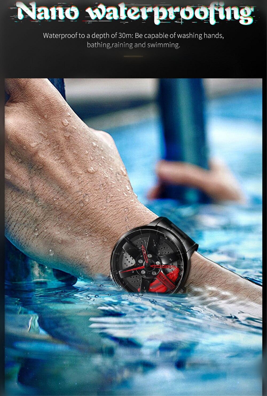 H1ff76f5cdc2e44568c5bbfa17e00d22dv 2020 NIBOSI Wheel Rim Design Sport  Waterproof