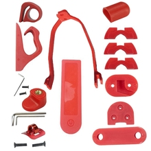for XiaoMi Mijia M365 Pro Electric Scooter Accessories Rear Fender Bracket Foot Support Accessories Red