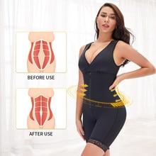 Fajas encadernadores e shapers das mulheres cintura trainer espartilho bunda levantador emagrecimento roupa interior bodyshaper lingerie modelagem cinta barriga