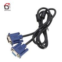 VGA/SVGA HDB 5 футов 1,5 м VGA HD кабель папа-папа удлинитель компьютерный монитор кабель