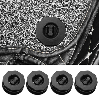 Car Fastener Floor Mat Clips Carpet Fixing Clamps Buckles for BMW E34 E36 E60 E90 E46 E39 E70 F10 F20 F30 X5 X6 X1 X7 X2 X3 X4 image
