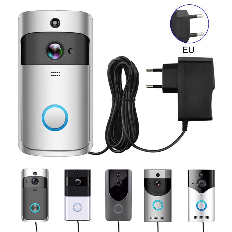 EU Plug Charger Transformer AC/DC Plug Charger For EKEN ZXTOP Wifi Wireless Doorbell Camera Power Adapter IP Video Intercom Ring