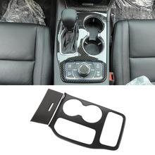 for Jeep Grand Cherokee 2011 2018 2019 2020 2021 Gear Shift Water Cup Holder Panel Decoration Cover Trim Decal Car Accessories
