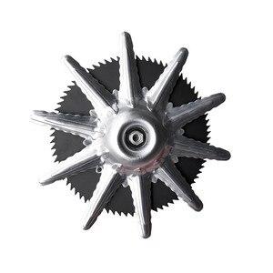 Image 4 - Protecteur de lame en métal, nouveau modèle M10 x 1.25, pour débroussailleuse et débroussailleuse coupe gazon, protecteur de sécurité, accessoires rotatifs, nouveau modèle