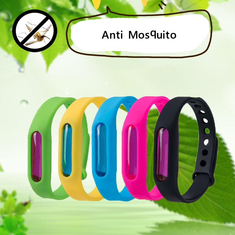 1PC Anti Mosquito Bracelet Capsule Pest Insect Bugs Control Mosquito Repellent Wristband Mosquito Killer For Kids Adults