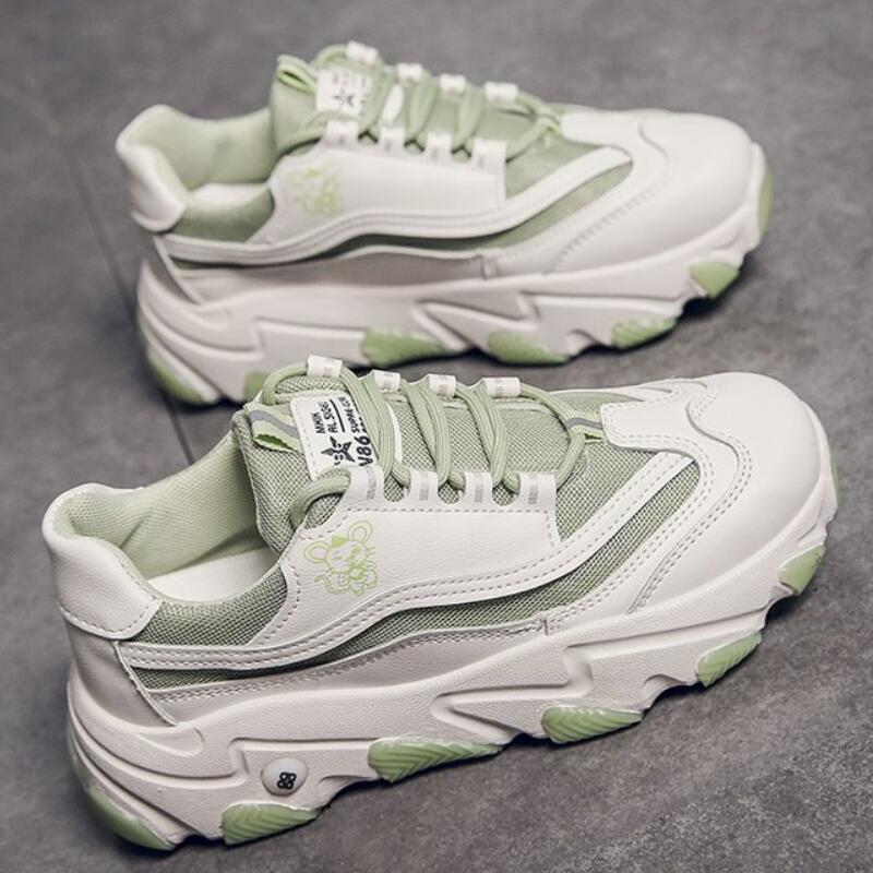 Mhysa 2020 Spring Women Shoes New Chunky Sneakers For Women Vulcanize Shoes Casual Fashion Platform women Sneakers Basket Femme